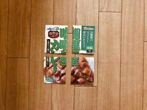 【高齢者室内レクリエーション・ゲーム(Recreation for the elderly)】レトルトカレーの空き箱で作った『パズル』