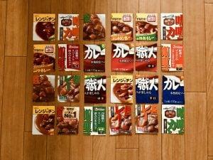 【高齢者(在宅介護)レクリエーション】レトルトカレーの空き箱を使って『6箱手作りジクソーパズル』